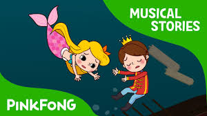 Mermaid Fairy The Little Mermaid Fairy Tales Musical Pinkfong Story Time
