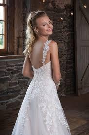 detachable wedding dress straps style 1120 sequined lace a line dress with detachable straps