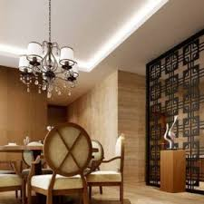 interior tips dining room set and living room partition wall