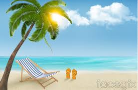 summer sunny beach background vector u2013 over millions vectors