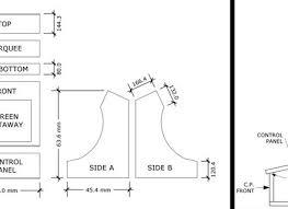 mame arcade cabinet kit arcade cabinet plans bartop mame bar top aracade john furcean s c 3