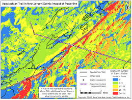 Map Of New Jersey And New York by Pse U0026g Powerline Proposal Would Impact Delaware Water Gap