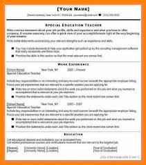 Resume For Fresher Teacher Job by Quotation Samples U2013 Page 3 U2013 Just Another Wordpress Site