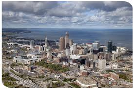 cleveland photographers cle skyline aerial photography cleveland ohio aerial
