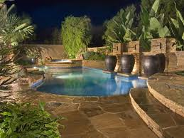 pool area ideas above ground pool decks hgtv