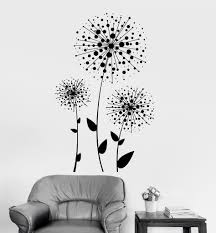 vinyl wall decal dandelions flowers florist floral art decoration vinyl wall decal dandelions flowers florist floral art decoration stickers ig3369