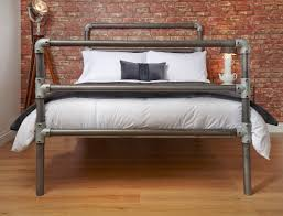 wrought iron brass bed william raw metal couch beds