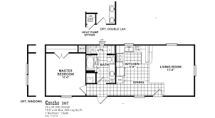 Double Master Bedroom Floor Plans by Concho 307 Oak Creek Homes