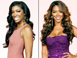 porsha williams hairline kenya moore considering hiring bodyguards when filming around