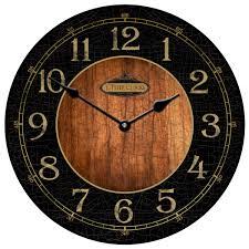 black u0026 wood clocks collection the big clock store