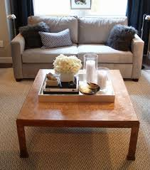 simple coffee table ideas coffee table decor tray classic and simple an oversized tray holds