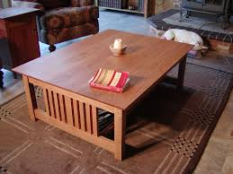mission coffee tables oak thippo