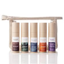 ambre blends hair five 10ml roll on gift set ambre blends