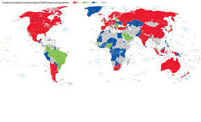 Caribbean Countries Map by Membership Of Oecd Forums Cayman Financial Review