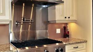 kitchens with stainless steel backsplash kitchen backsplash stainless steel wall tiles 27 verdesmoke