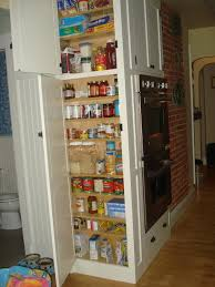kitchen chic pantry storage and cabinet mounted over range