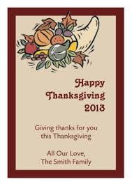 thanksgiving labels personalized thanksgiving labels custom thanksgiving stickers