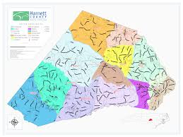 Lee County Zip Code Map by Boundaries U2013 Harnett County Gis