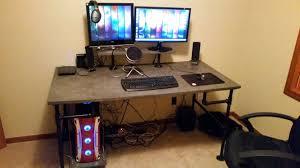 Diy Metal Desk by Images About Diy Desks Ikea Design Inspirations Computer Desk