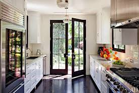 galley style kitchen ideas black and white galley style kitchen design ideas