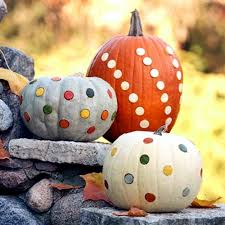 Pumpkin Decorating Without Carving Decorate Pumpkins Without Carving U2013 Crafts With Children In Autumn