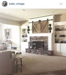 Best 25 Farmhouse Fireplace Mantels Ideas On Pinterest