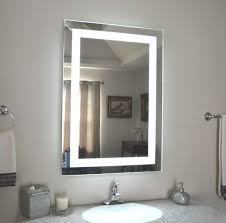 Lighted Bathroom Wall Mirror by Bathroom Lighted Bathroom Wall Mirror Cool Features 2017 Lighted