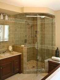 Bathroom Corner Showers Small Bathroom Remodel Corner Shower Interior Design
