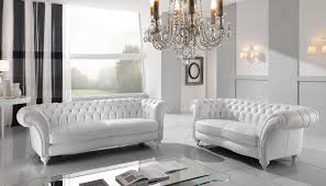Tufted Chesterfield Sofa by Furniture Glass Coffee Table And Leather Chesterfield Sofa With