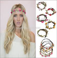 hippie flower headbands headband plastic picture more detailed picture about flower
