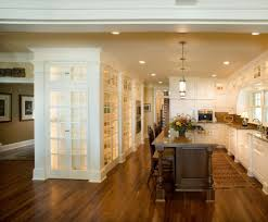 Glass Bookcases With Doors by Built In Bookcases With Glass Doors Family Room Transitional With