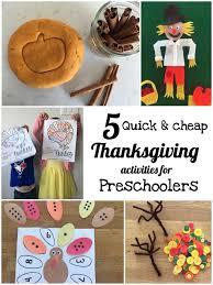 5 thanksgiving activities for toddlers preschoolers