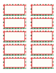 free printable christmas address labels u2013 happy holidays
