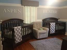 chambre de bébé jumeaux la peinture chambre bébé 70 idées sympas baby nurseries ideas