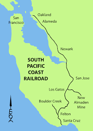 South Pacific Map South Pacific Coast Railroad Wikipedia