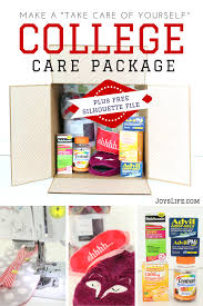 college care packages make a take care of yourself college care package free