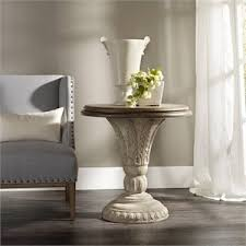 Pedestal Accent Table Pedestal Table Cymax Stores