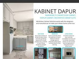 Ab Kitchen Cabinet Ab Kitchen Cabinet Solutions Subang Permai Interior Designer In