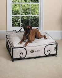 pillow top dog bed pet beds pet bowls luxury products for pets