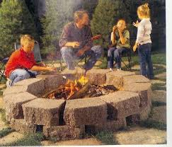 How To Use A Firepit Pit Made Out Of Pavers Lawnsite