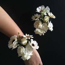 wedding flowers groom aliexpress buy best boutonniere bridal wrist corsage