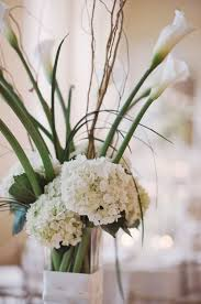 hydrangea wedding centerpieces white hydrangea wedding centerpiece elizabeth designs the