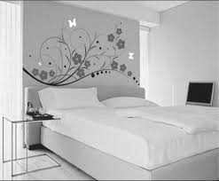 Master Bedroom Decor Black And White Neutral And Balanced Beautiful Simple Floral Black And White Wall