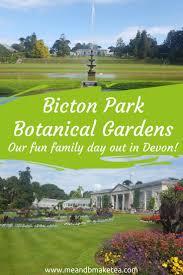 Bicton Park Botanical Gardens Family At Bicton Park Botanical Gardens In
