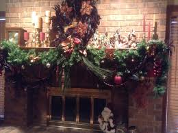 modern nice design of the burgundy and brown mantle decorations