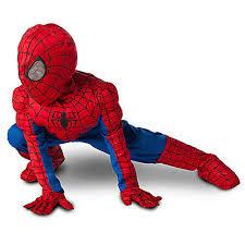 amazon com disney store spider man costume for boys amazing