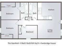 3 bedroom 2 bath floor plans 3 bedroom apartments in davis ca cambridge house