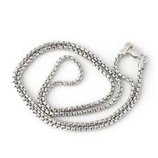 round chain necklace images 14k yellow or white gold 1 7mm round box chain necklace 16 quot 18 jpg