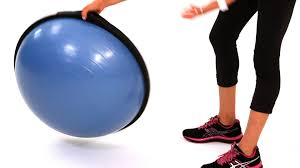 Bounce Ball Chair How To Use A Bosu Ball Bosu Ball Workout Youtube