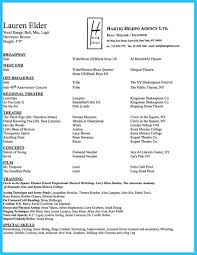free acting resume template acting resume template free theatre technician resume template the